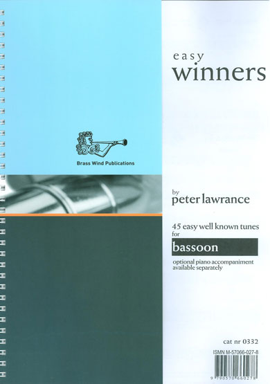 Easy Winners for Bassoon published by Brasswind
