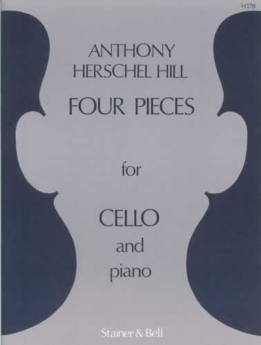 Hill: Four Pieces for Cello published by Stainer and Bell