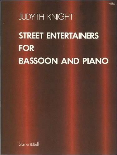 Knight: Street Entertainers for Bassoon published by Stainer & Bell