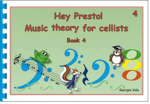 Hey Presto! Music Theory for Cellists Book 4