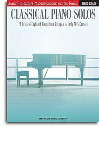 John Thompson's Modern Course: Classical Piano Solos - Third Grade