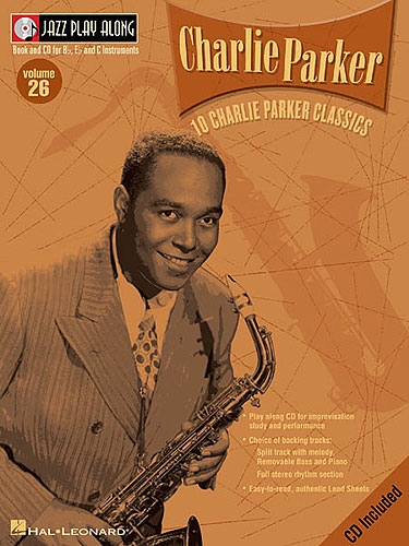 Jazz Play Along: Volume 26 - Charlie Parker published by Hal Leonard