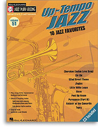 Jazz Play Along: Volume 51: Up Tempo Jazz published by Hal Leonard