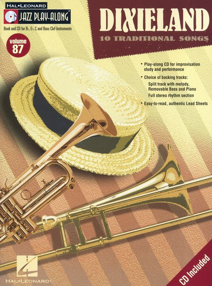 Jazz Play Along: Volume 87: Dixieland published by Hal Leonard
