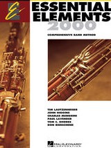 Essential Elements 2000 Book 1 for Bassoon published by Hal Leonard (Book & CD)
