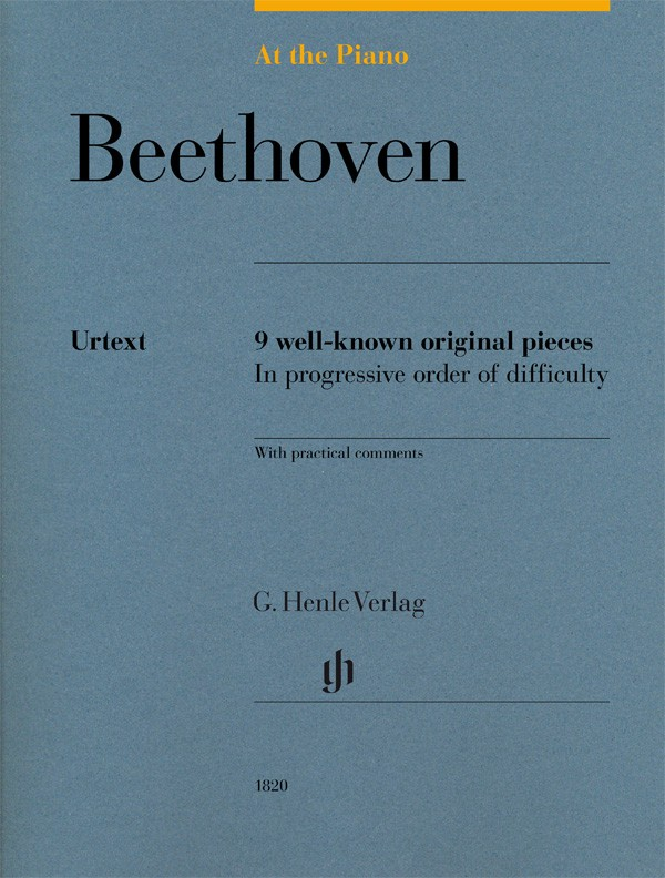 At The Piano - Beethoven published by Henle