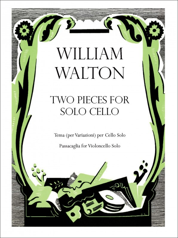 Walton: Two Pieces for solo cello published by OUP