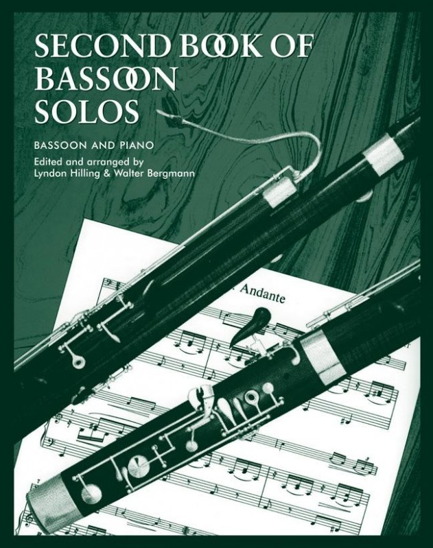 Second Book of Bassoon Solos published by Faber