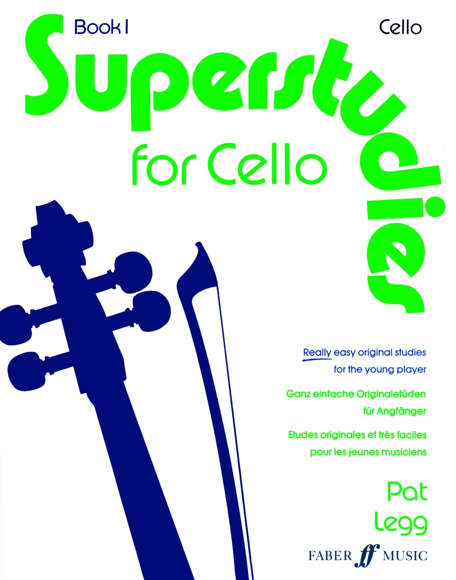 Superstudies Book 1 for Cello published by Faber