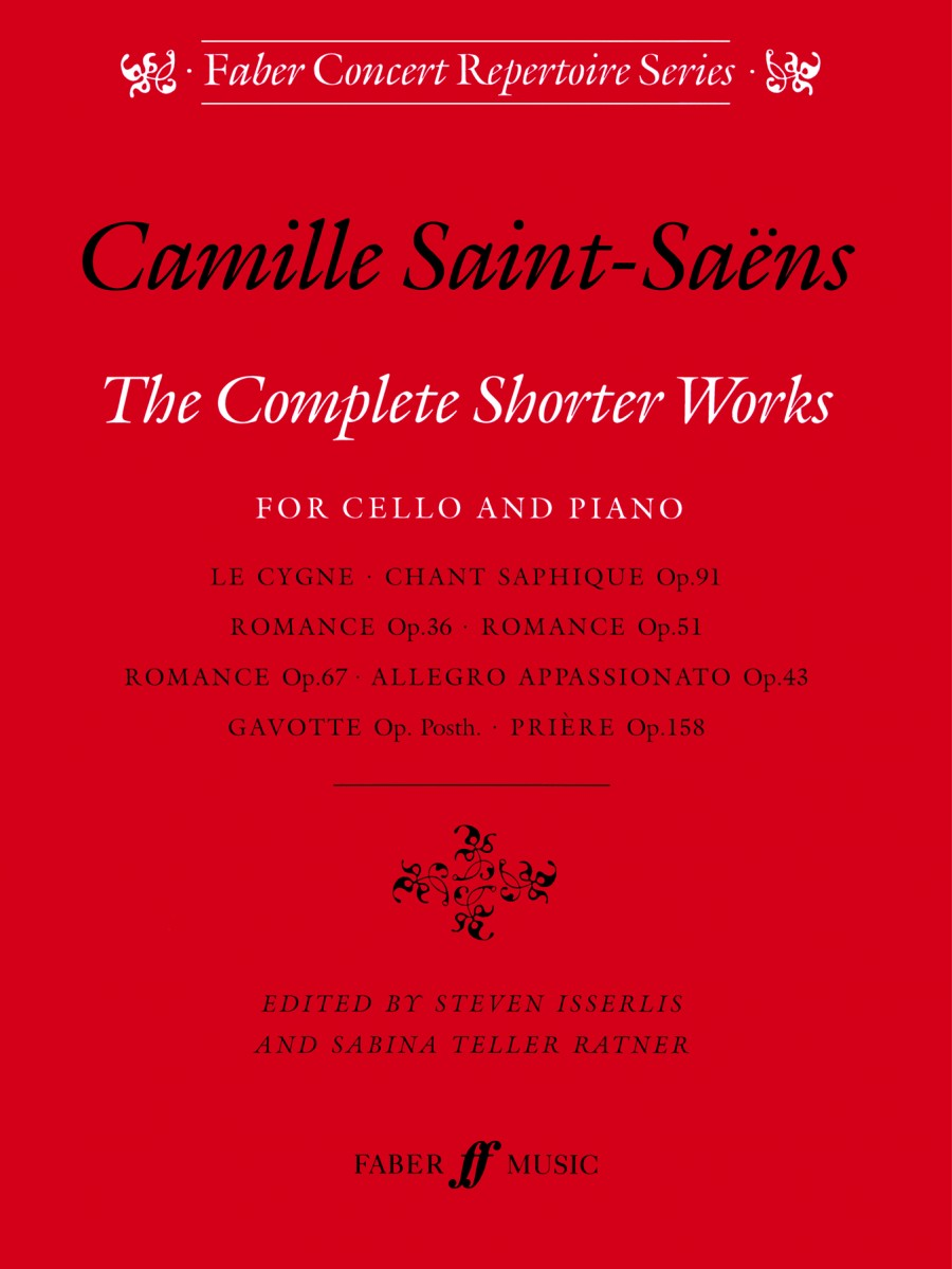 Saint-Saens: Complete Shorter Works for Cello published by Faber