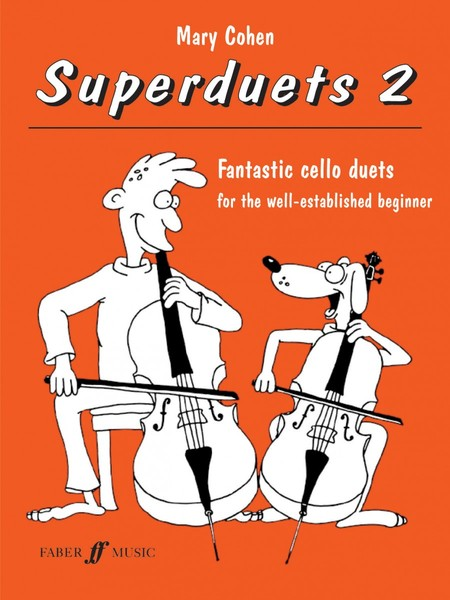 Cohen: Superduets - Book 2 (Cello Duet) published by Faber
