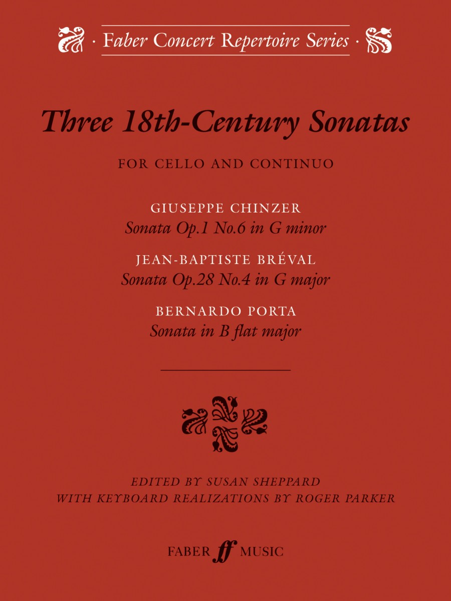 Three 18th Century Sonatas for Cello published by Faber