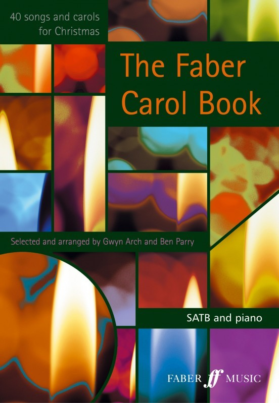 Faber Carol Book SATB published by Faber