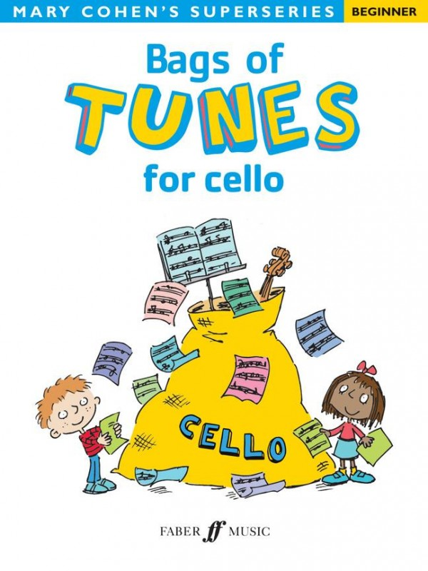 Bags of Tunes for Cello (Beginner) published by Faber
