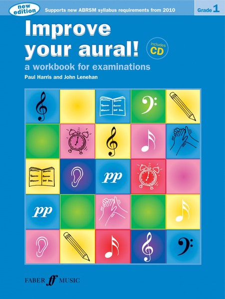 Improve Your Aural Grade 1 Book & CD by Harris published by Faber
