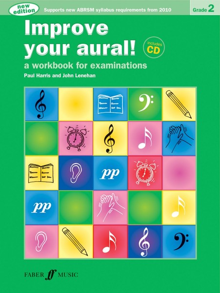 Improve Your Aural Grade 2 Book & CD by Harris published by Faber