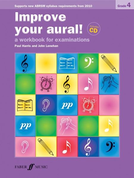 Improve Your Aural Grade 4 Book & CD by Harris published by Faber