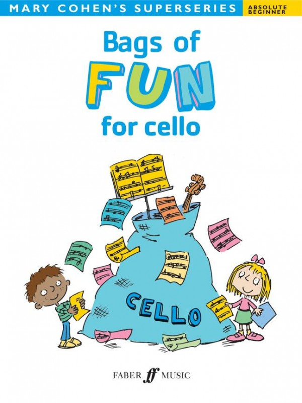 Bags of Fun for Cello (Absolute Beginner) published by Faber
