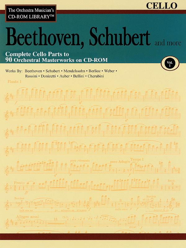 Beethoven, Schubert & More - Volume 1 for Cello published by Hal Leonard