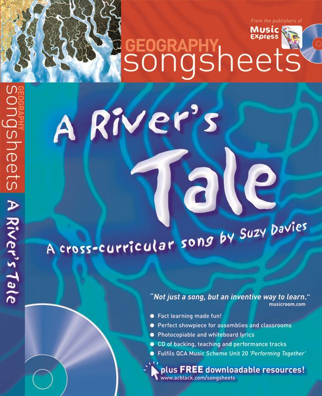 A River's Tale (Geography Songsheets) Book & CD published by A and C Black