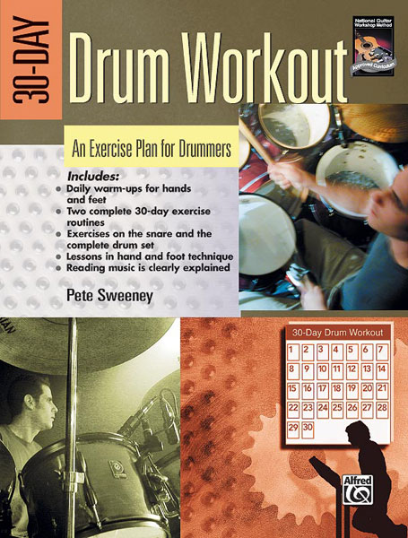 30-Day Drum Workout published by Alfred