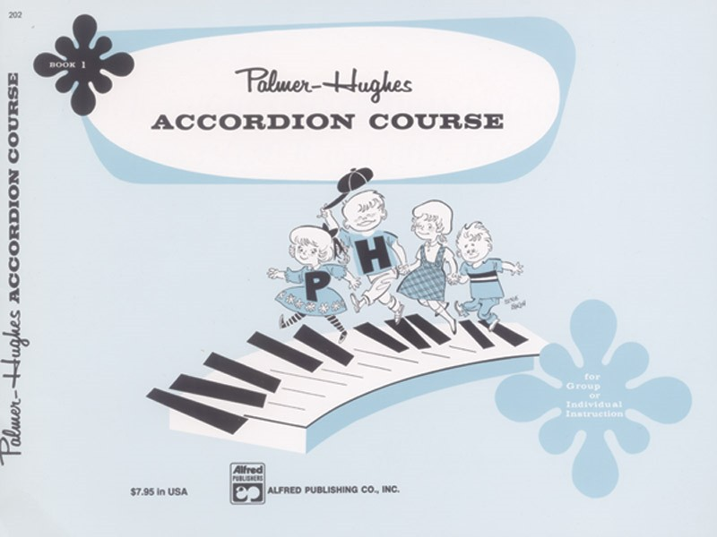 Accordion Course Book 1 by Palmer-Hughes published by Alfred