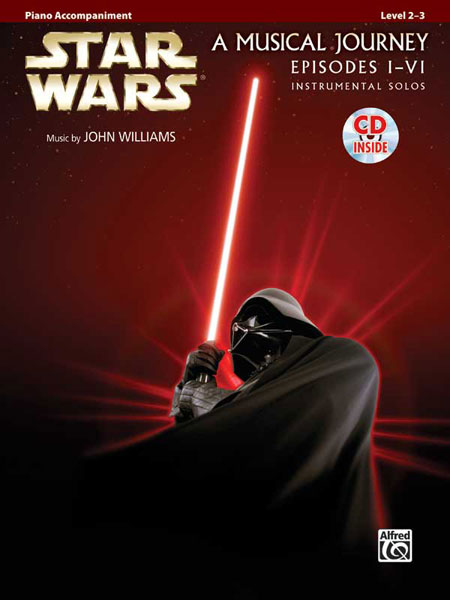 Star Wars Episodes I-VI Piano Accompaniment published by Alfred