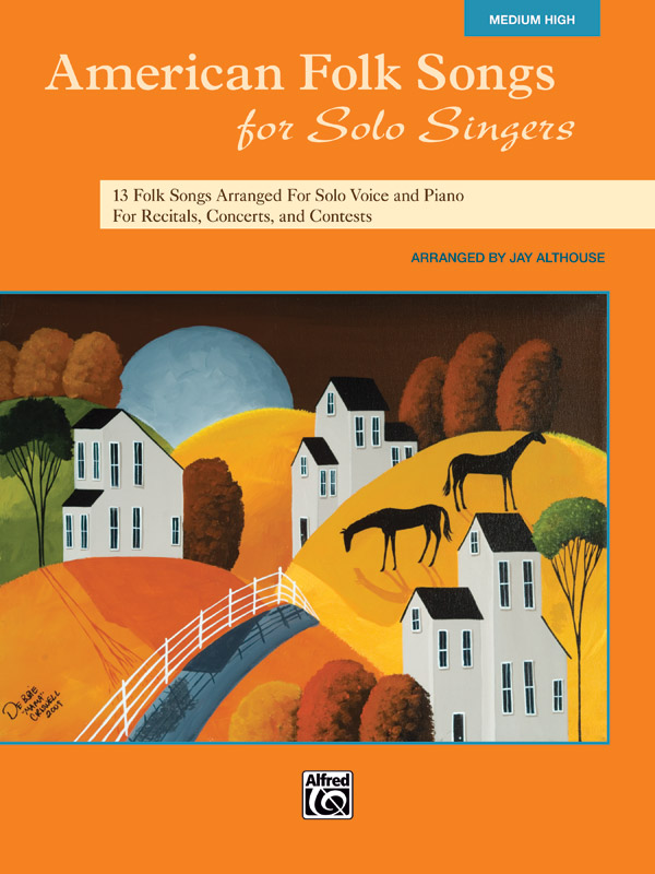 American Folk Songs for Solo Singers Medium/High published by Alfred
