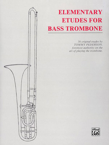 Pederson: Elementary Etudes For Bass Trombone published by Alfred