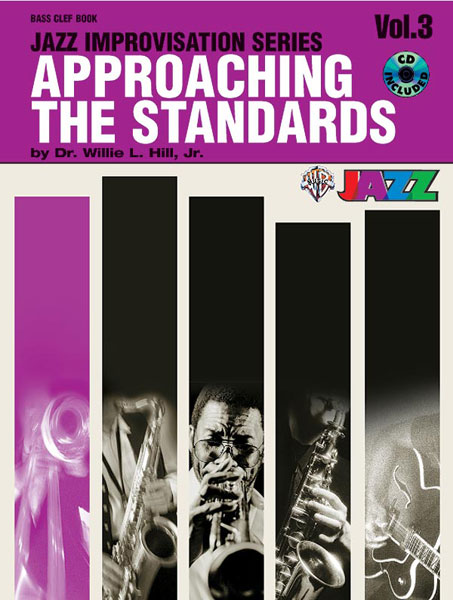 Approaching the Standards Volume 3 Bass Clef Book & CD published by Warner
