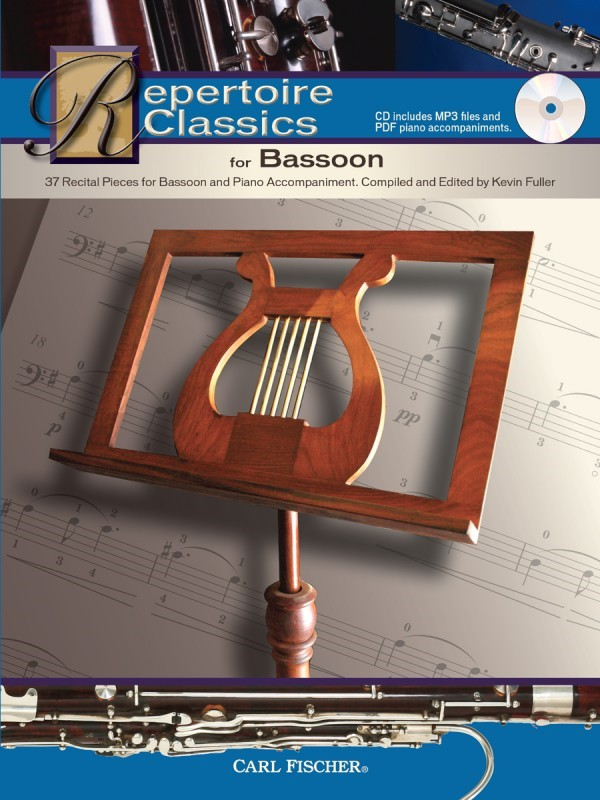 Repertoire Classics for Bassoon Book & CD published by Fischer