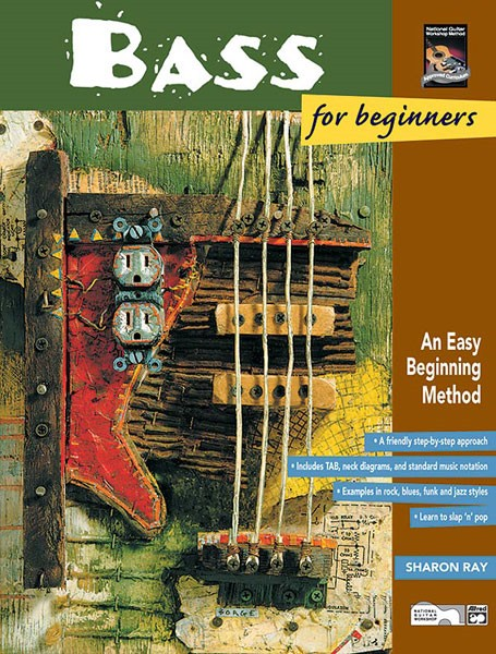 forwoods scorestore bass for beginners by ray book cd published by alfred. Black Bedroom Furniture Sets. Home Design Ideas