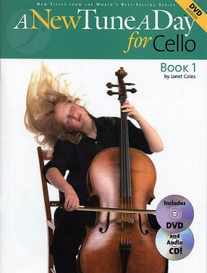 A New Tune a Day 1 for Cello published by Boston (DVD Edition)