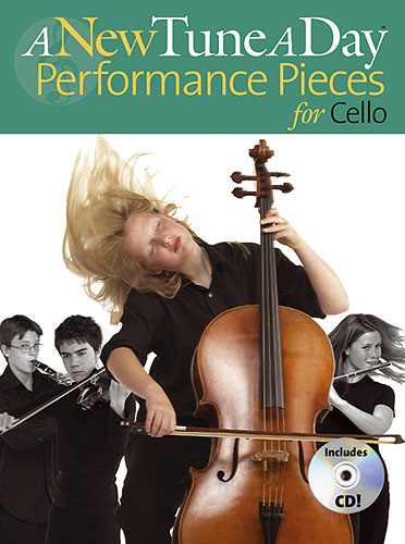 A New Tune a Day : Performance Pieces Book & CD for Cello published by Boston