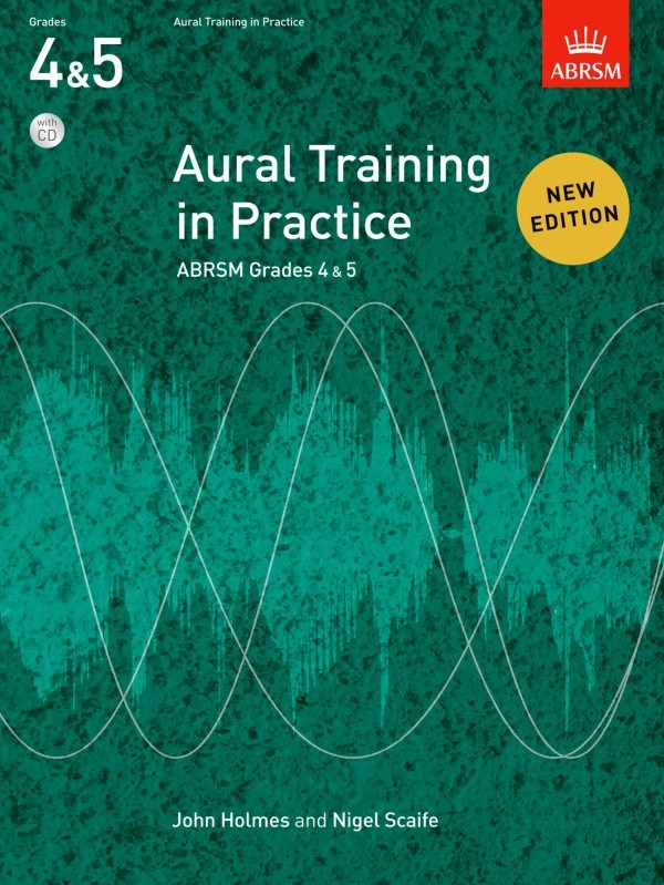 Aural Training in Practice Book 2 Grades 4 - 5 Book & CD published by ABRSM