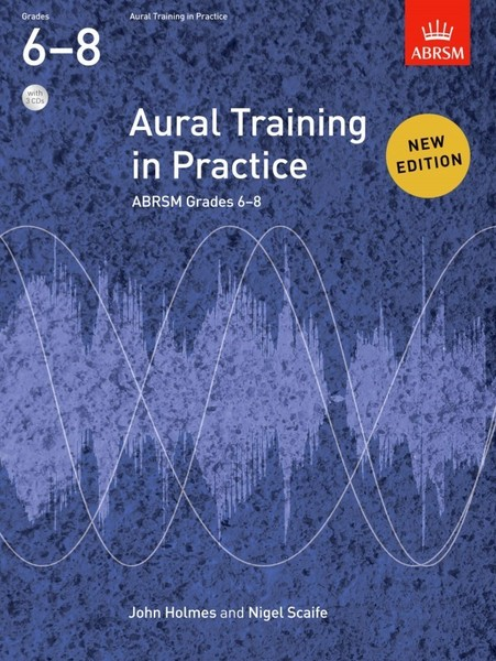 Aural Training in Practice Book 3 Grades 6 - 8 Book & CD published by ABRSM