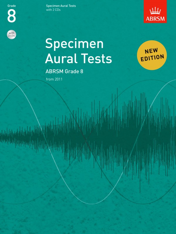 ABRSM Specimen Aural Tests Grade 8 With CD