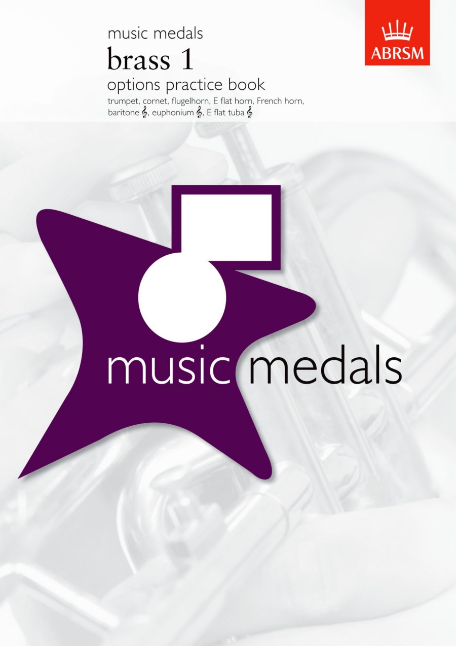ABRSM Music Medals: Brass 1 Options Practice Book