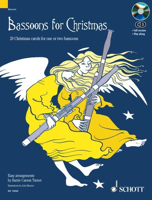 Bassoons for Christmas Book & CD published by Schott