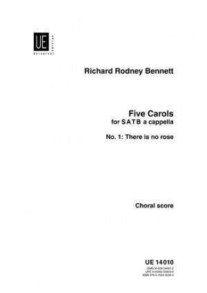 Bennett: There is no rose SATB published by Universal