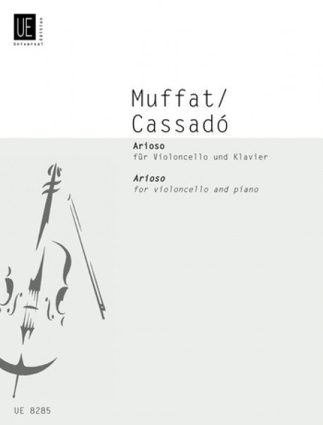 Muffat: Arioso for Cello published by Universal