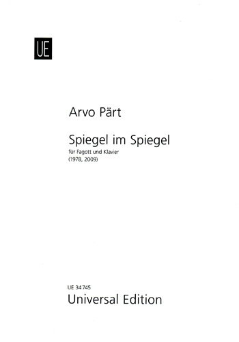 Spiegel im Spiegel by Part for Bassoon published by Universal