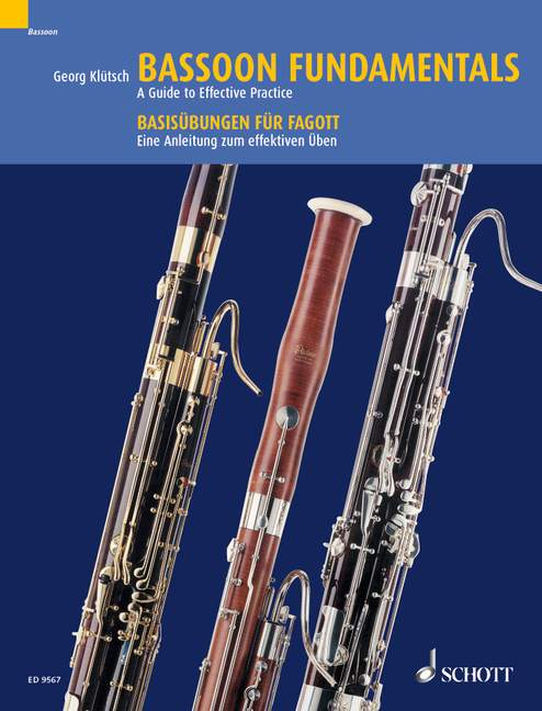 Kluetsch: Bassoon Fundamentals published by Schott