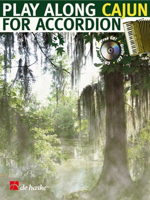 Play along Cajun for Accordion published by de Haske