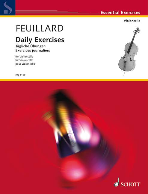 Feuillard: Daily Exercises for Cello published by Schott