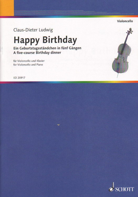 Ludwig: Happy Birthday for Cello published by Schott