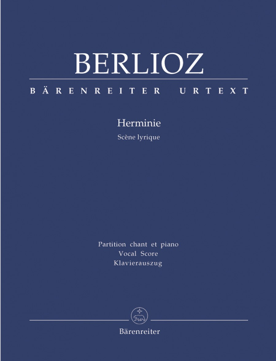 Berlioz: Herminie published by Barenreiter Urtext - Vocal Score