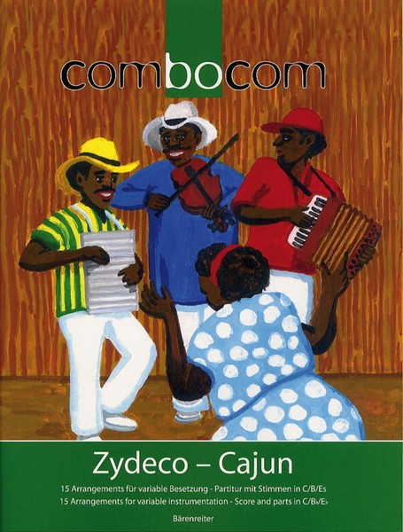 Combocom - Music for Flexible Ensemble - Zydeco - Cajun published by Barenreiter