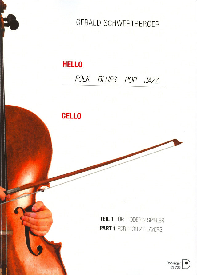 Schwertberger: Hello Cello Book 1 for 1 or 2 Cellos published by Doblinger