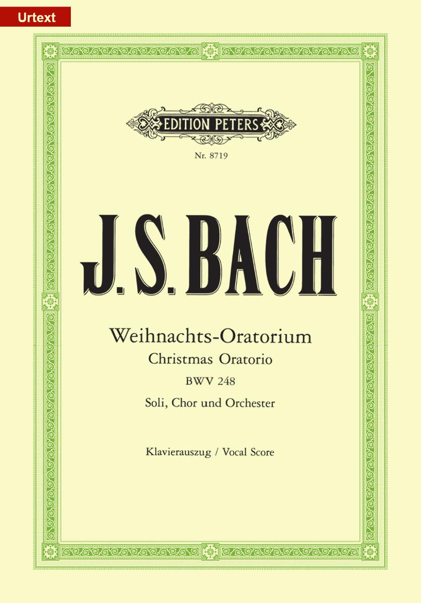 Bach: Christmas Oratorio (BWV 248) published by Peters - Vocal Score